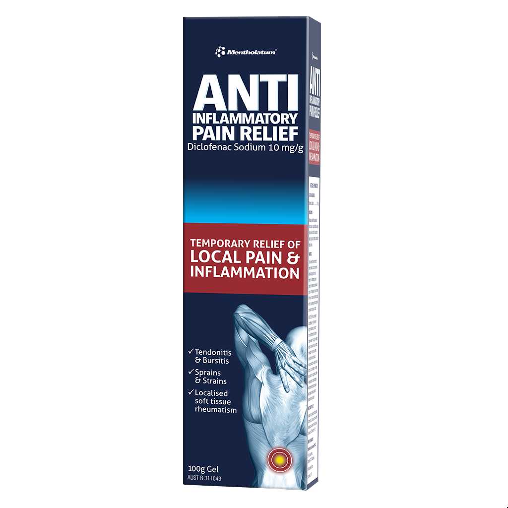 Anti-inflammatory Pain Relief Gel with Diclofenac 100g