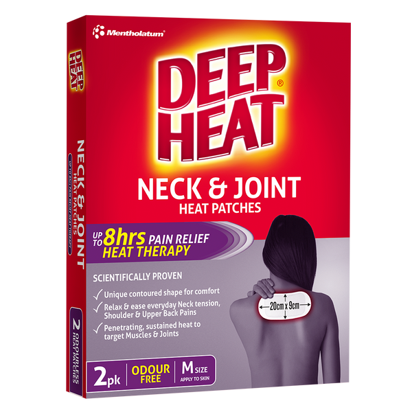 Deep Heat Neck & Joint Patches 2 pk