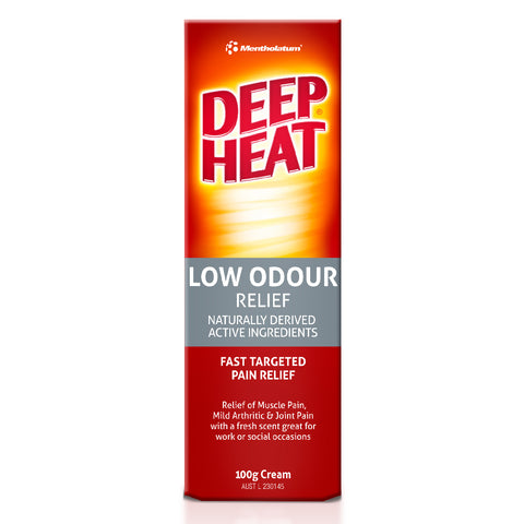Deep Heat Low Odour