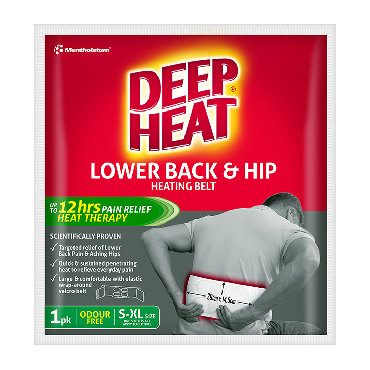 Deep Heat Lower Back & Hip Heating Belt