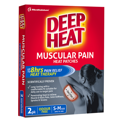 Deep Heat Muscular Pain Heat Patches