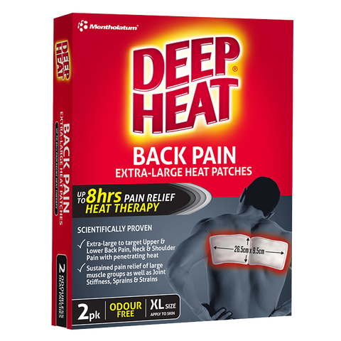 Deep Heat Back Pain Extra-Large Heat Patches