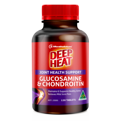 Deep Heat Joint Health Support Glucosamine & Chondroitin