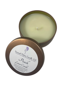 Peach  Soy Lotion  Candle