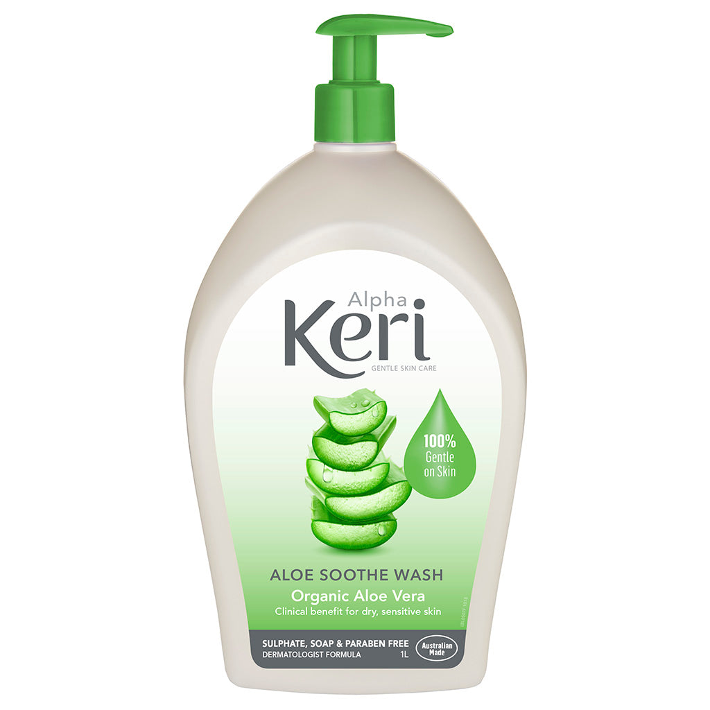 Alpha Keri Aloe Soothe Wash
