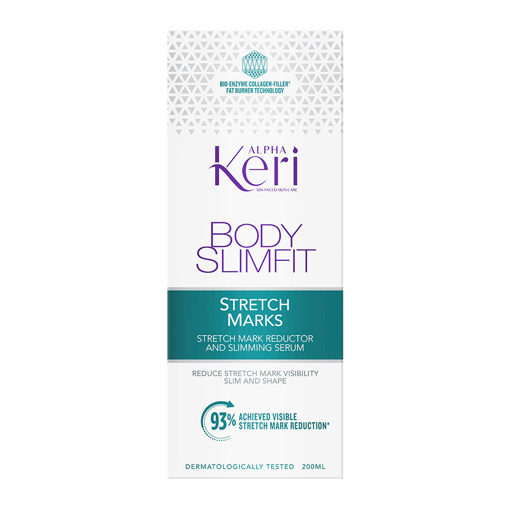 Alpha Keri Body Slimfit Stretch Mark Reductor + Slimming Serum