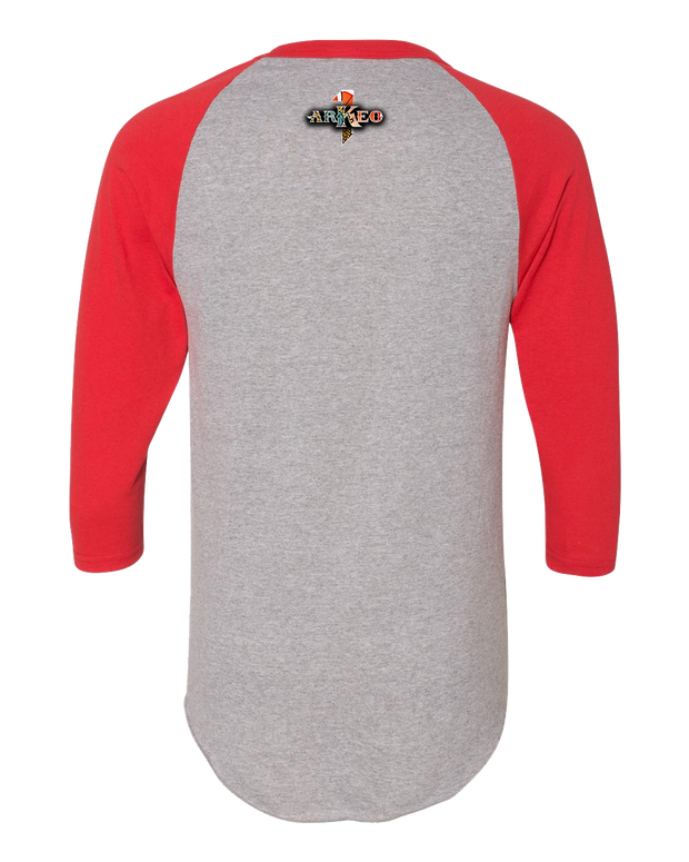 Men's Scorpion Tattoo Raglan 3/4 Sleeve