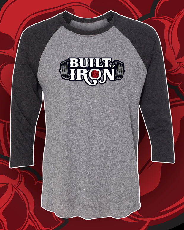Built By Iron Unisex 3/4 Raglan