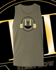 Training Time Men's Logo Unisex Tank Top