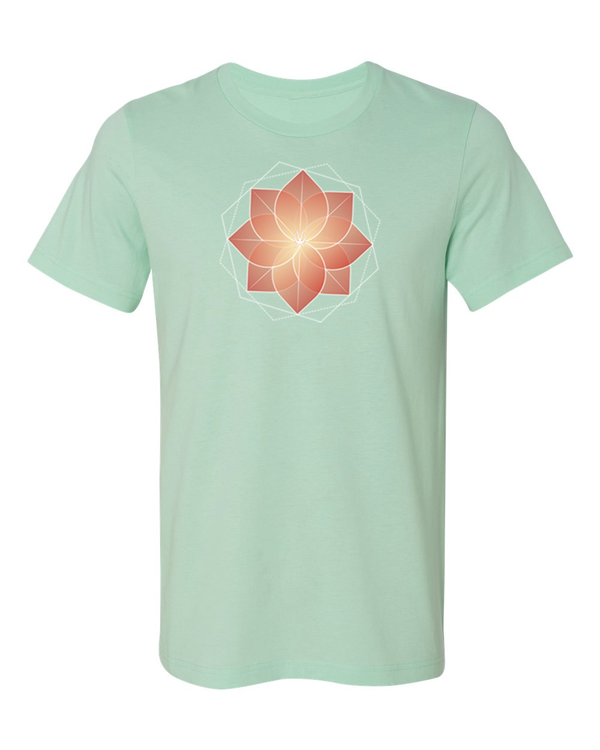 Arkeo 1 Spring 2021 mint Blooming Lotus Unisex T-Shirt
