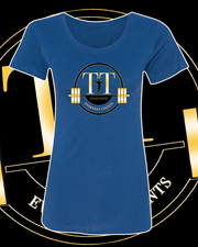 Training Time Lady Logo Fitted t-shirt