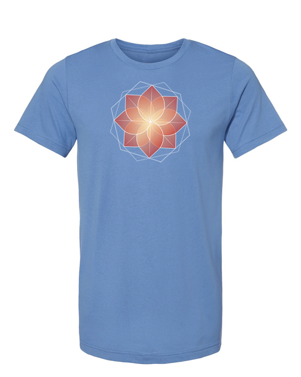 Arkeo 1 Spring 2021 steel blue Blooming Lotus Unisex T-Shirt