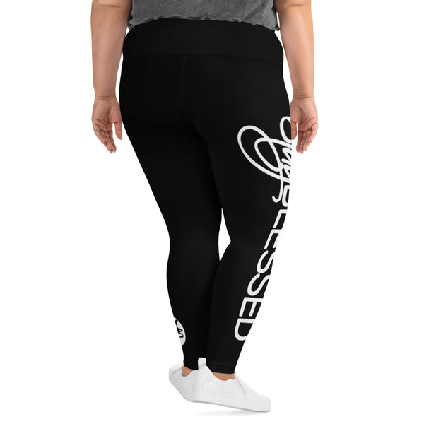 Stay Blessed Plus Size Leggings