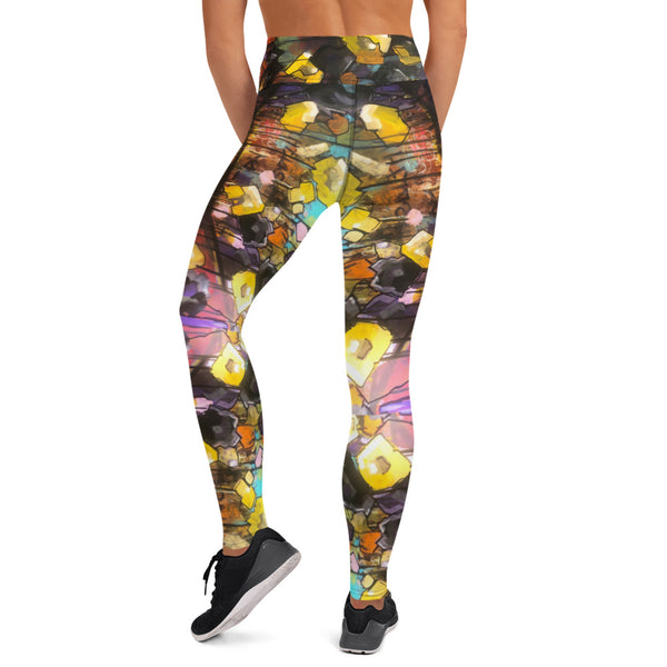 Vampire Flower Leggings