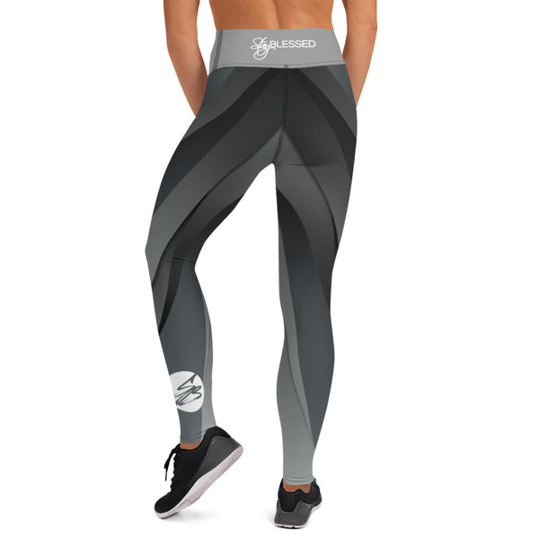 Stay Blessed Grey Leggings