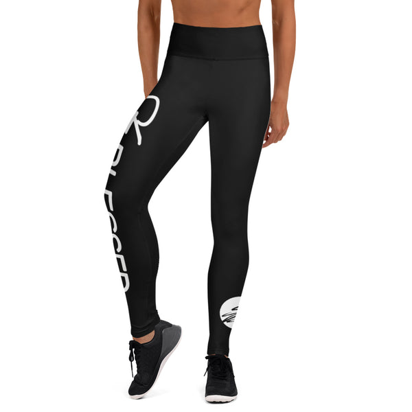 Stay Blessed Black Leggings