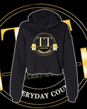 Training Time Everyday Counts Crop Hoodie