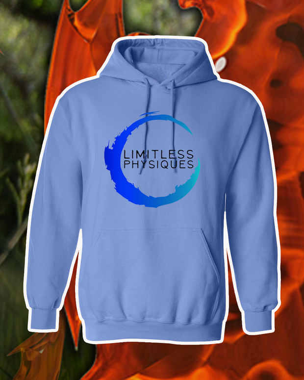 Limitless Physique Blue Unisex Hoodie