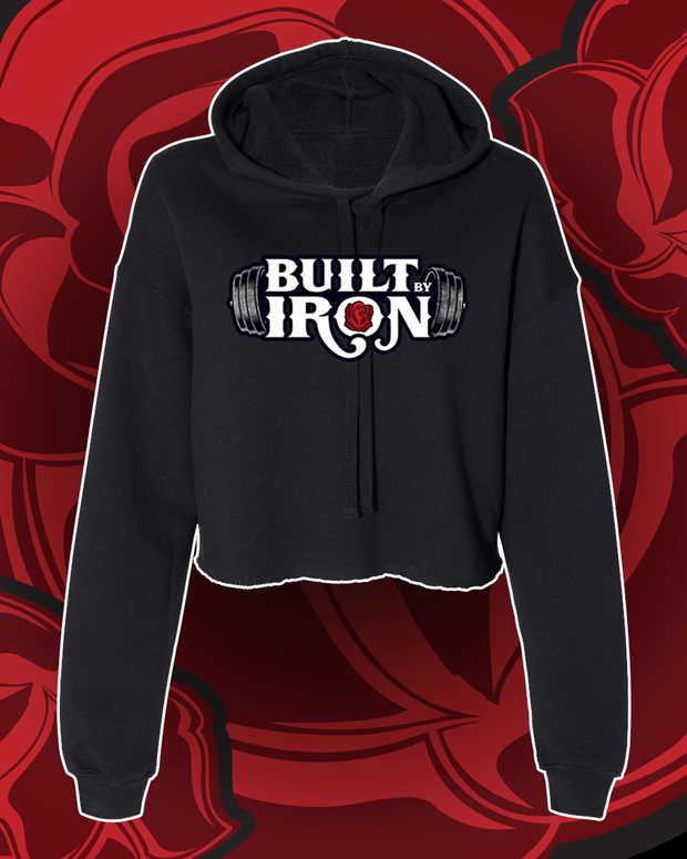 Built By Iron Crop Hoodie