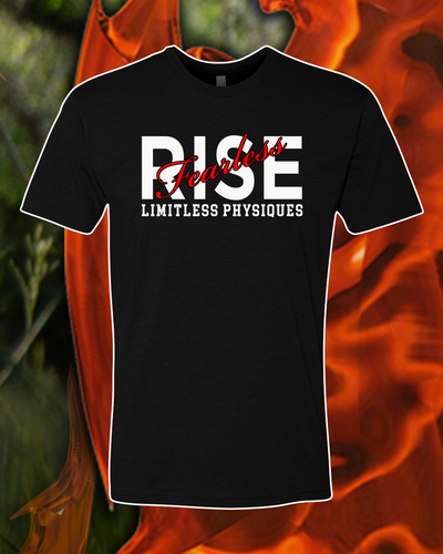 Limitless Physiques Rise-Fearless Short-Sleeve Unisex T-Shirt