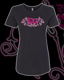 Body By Me Women's Fancy Logo T-Shirt