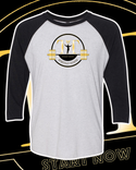 Training Time 3/4 sleeve Raglan