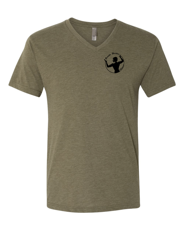 Brooke Walker Fitness Pocket Logo Unisex V Neck