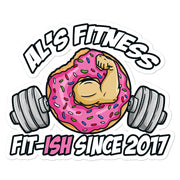 AL'S FITNESS Bubble-free stickers