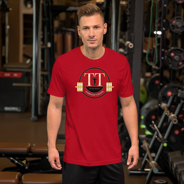 Men's Logo Training Time Short-Sleeve Unisex T-Shirt
