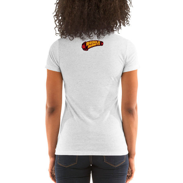 Muscle Nugget Women's Fitted T-Shirt