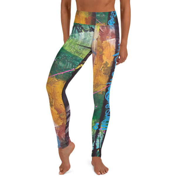 Life Was Meant to Be Awesome Wearable Art Leggings