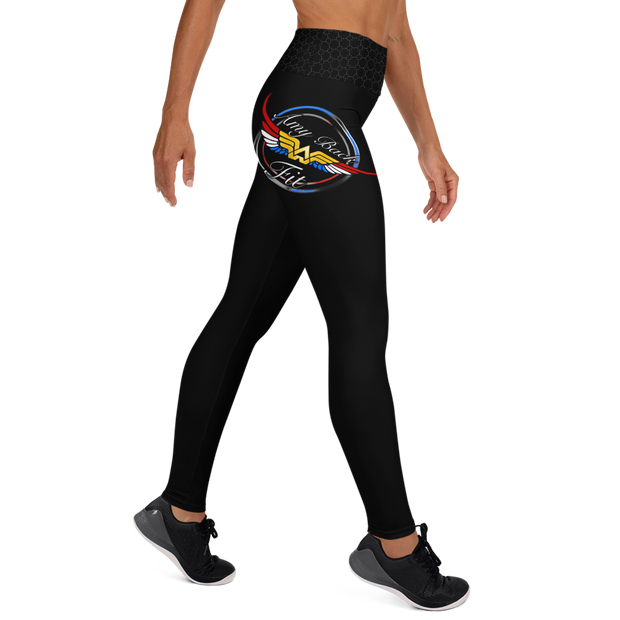 Amy Back Fitness Logo Leggings