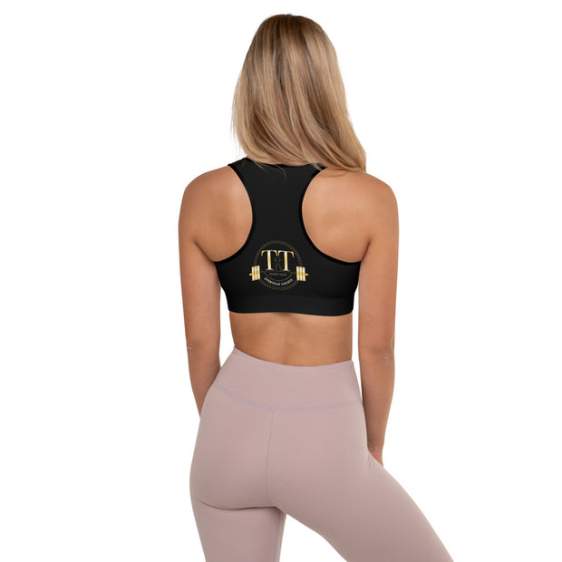 Training Time Padded Sports Bra