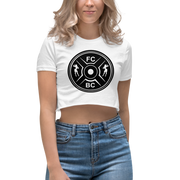 Fit Chick Barbell Club - Member's Only Crop Top