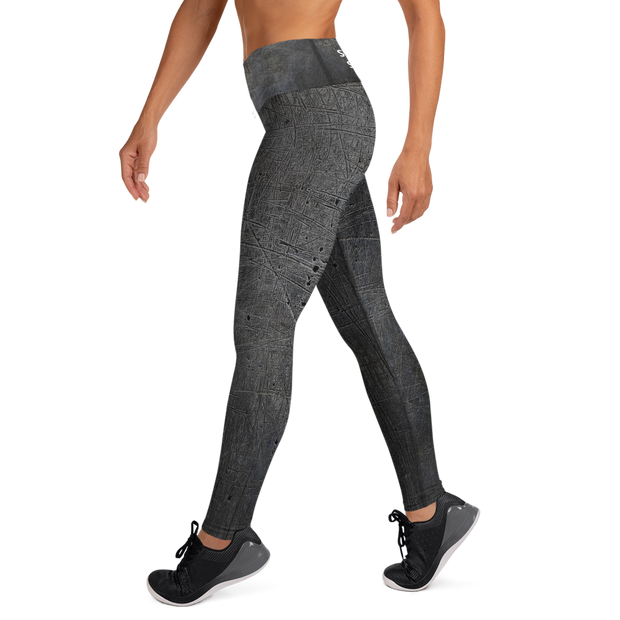 Fit Chick Barbell Club -- Strong Leggings