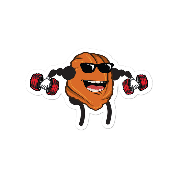 Muscle Nugget Dumbbell Lifter Sticker