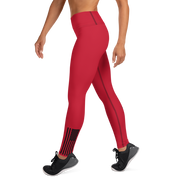 CPA Women's Red Leggings