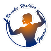 Brooke Walker Fitness Stickers