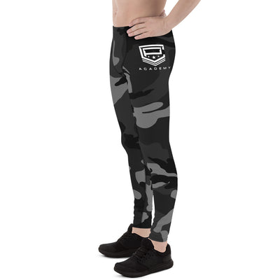 CPA Men Black Camo Leggings