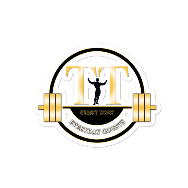 Training Time Everyday Counts GUY Logo Bubble-free stickers