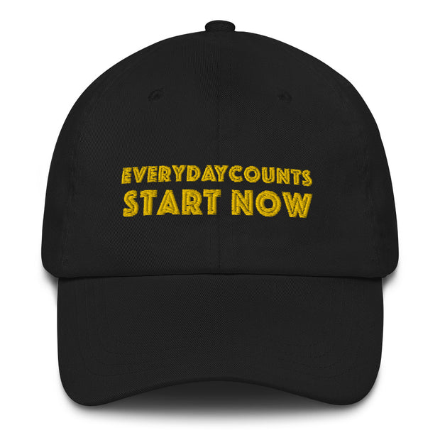 Everyday Counts Start Now Hat