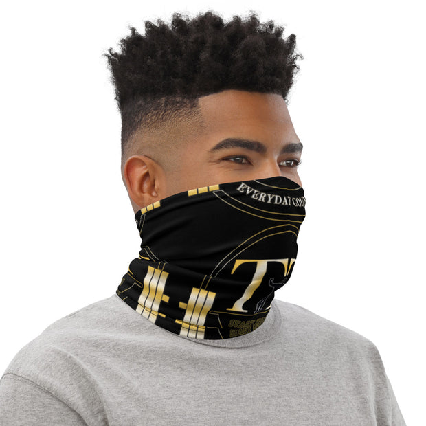 Training Time Everyday Counts GUY LOGO Neck Gaiter