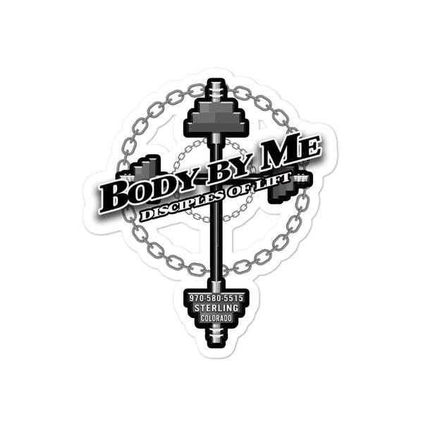 Body By Me Bubble-free stickers