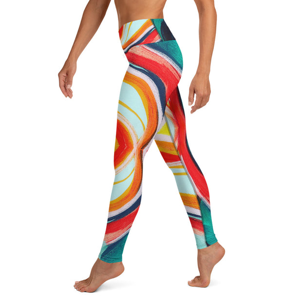 Flow Wearable Art Leggings