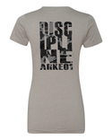 Arkeo1 Camo Discipline Women's Fitted T-Shirt
