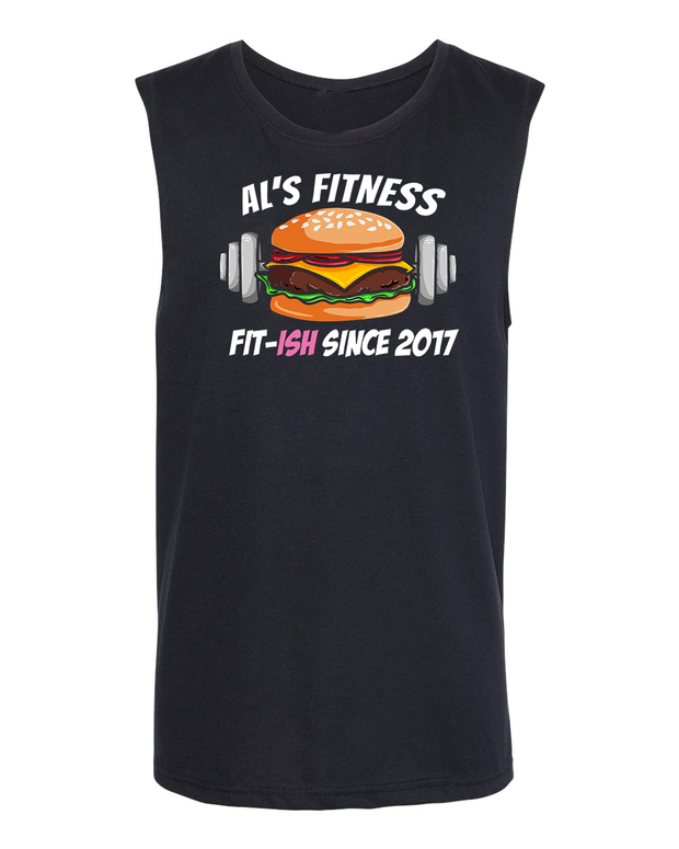 AL'S FITNESS BURGER Unisex Tank Top