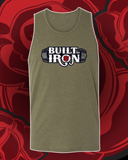 Built By Iron Unisex Tank Top