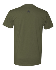 MILITARY GREEN ARKEO1 TSHIRT - ARKEO1