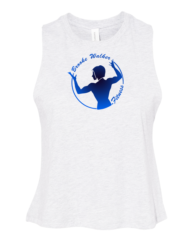 Brooke Walker Fitness Crop Tank Top