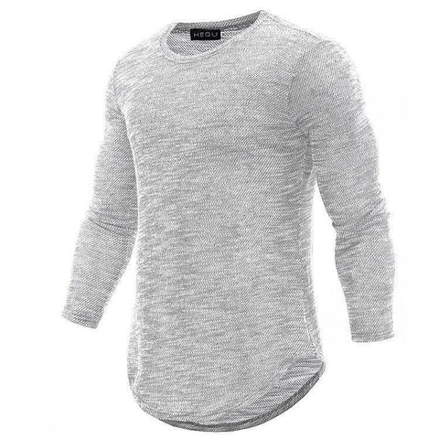High Quality Casual Round Neck Long Sleeve